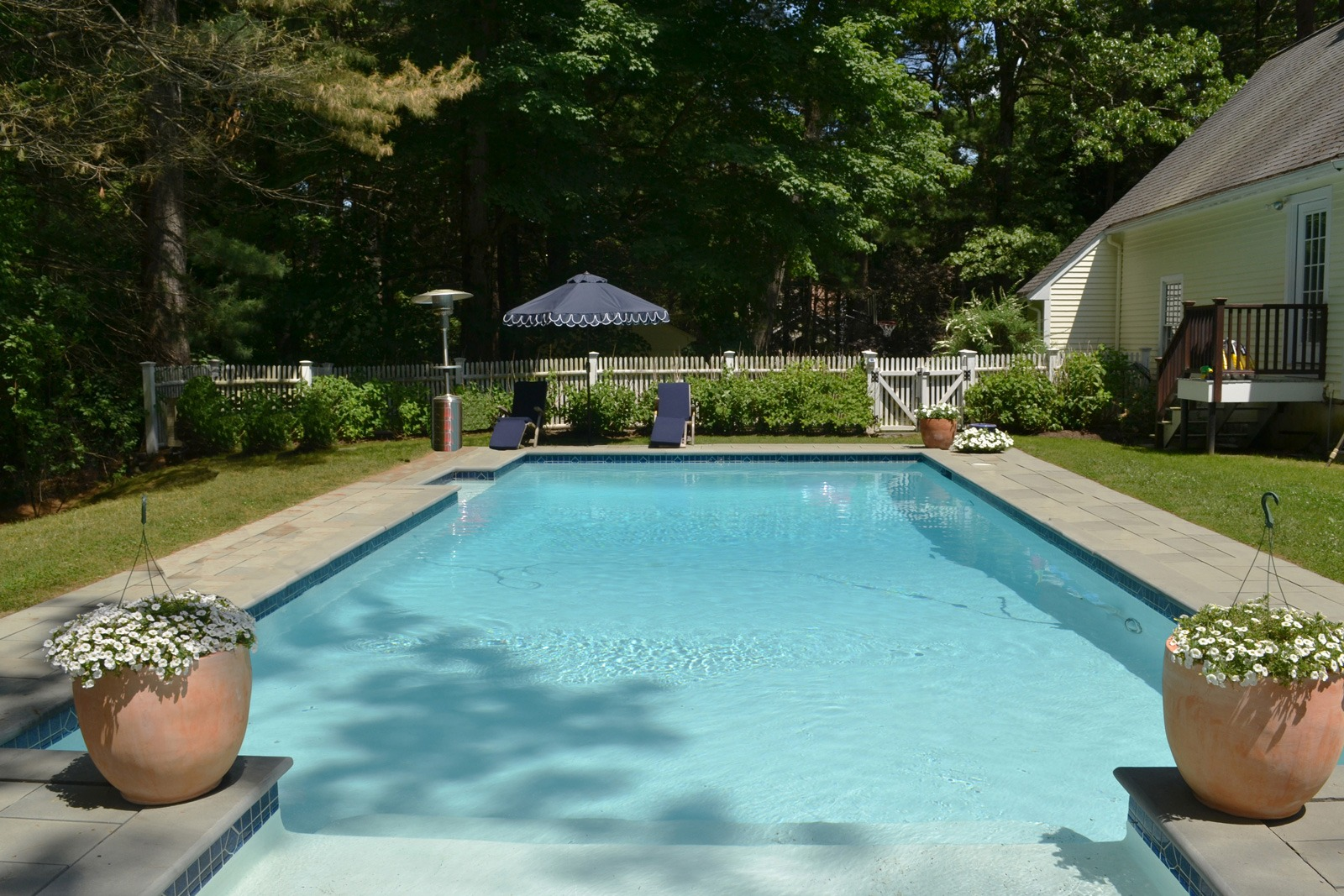 pool at 2 buttercup lane, dover MA